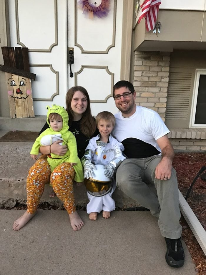 family space costumes