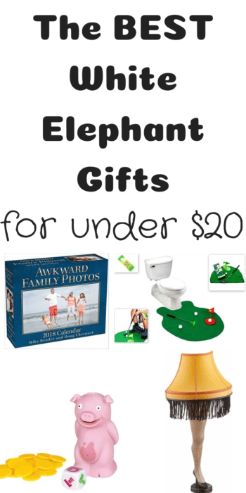 The BEST White Elephant Gifts (All for Under $20!)