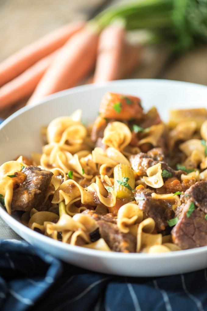 Beef Stew Pasta
