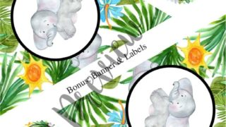 Jungle Themed Baby Shower: Free Printable Games, Invitations, and Decor