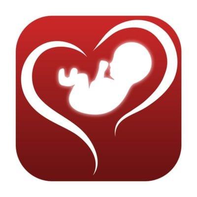 my baby's pregnancy heartbeat app logo