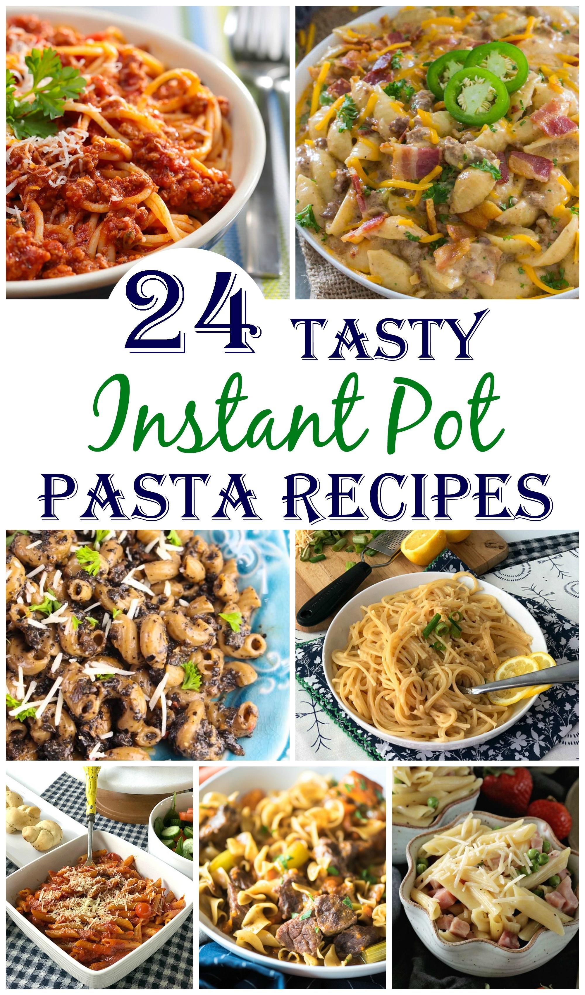 Pasta Instant Pot