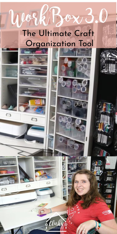 Craft Organization / WorkBox 3.0 / Crafts / Crafting / Organization / Organize