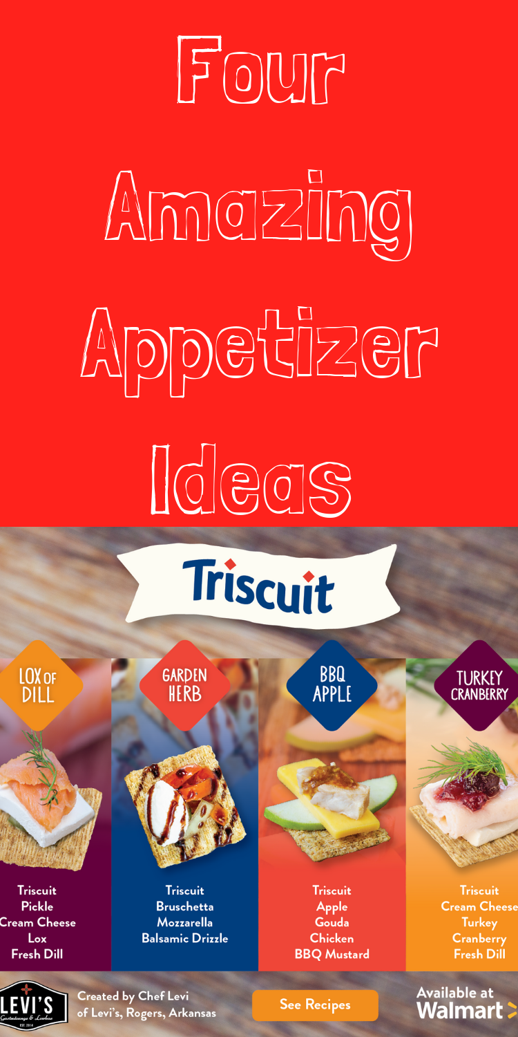 Four amazing appetizer ideas using Triscuit crackers! #HolidaysWithTriscuit #IC #ad via @clarkscondensed