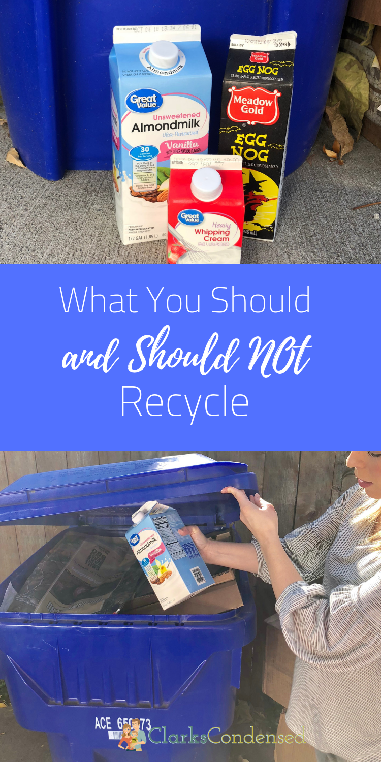 America Recycles day is Nobember 15th!Be sure you know what you should and should not recycle so you can be well informed! #RecycleYourCartons, #IC, #CartonCouncilPartner via @clarkscondensed