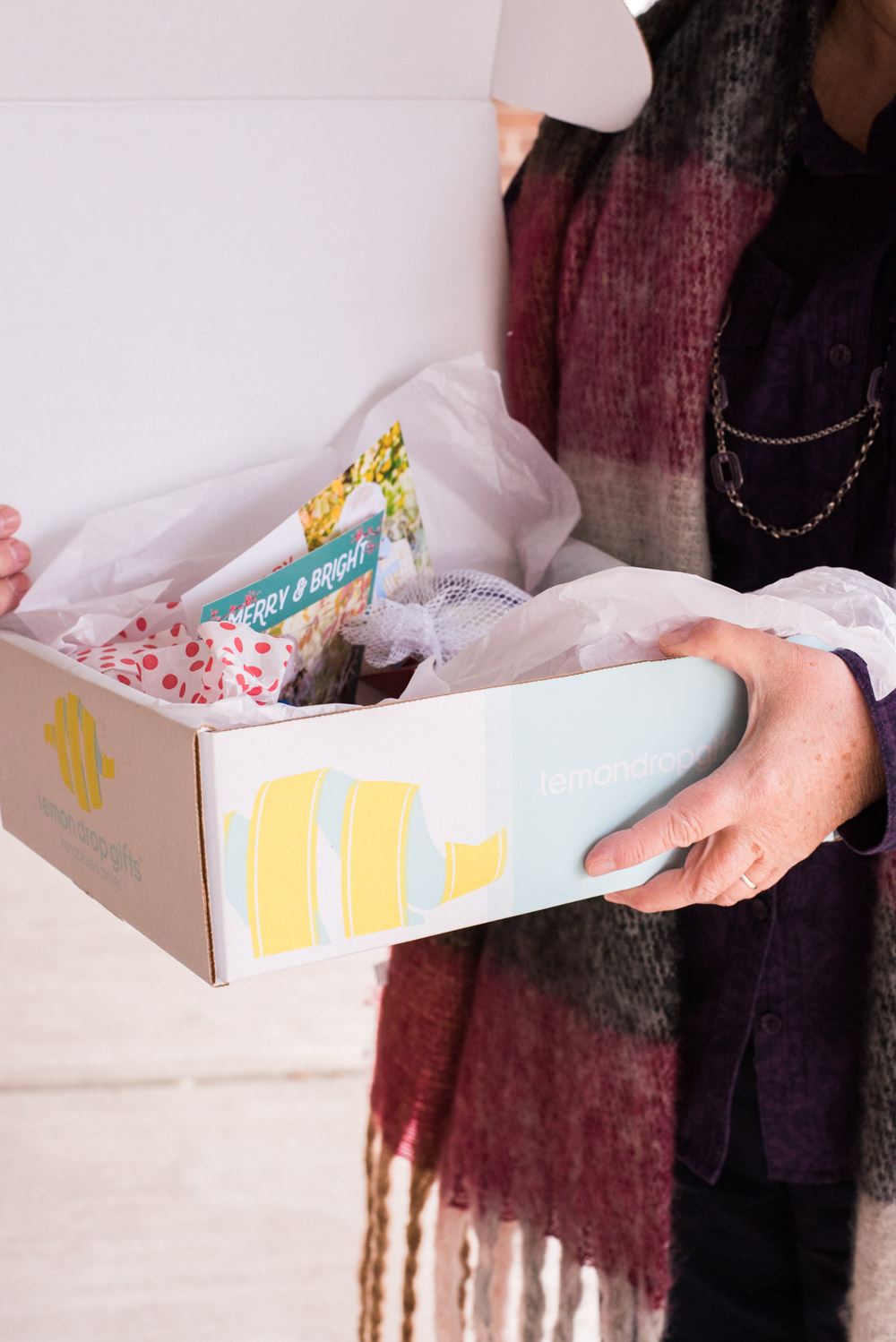 Sending Love in a Box — A Lemon Drop Gifts Box Review + Coupon via @clarkscondensed