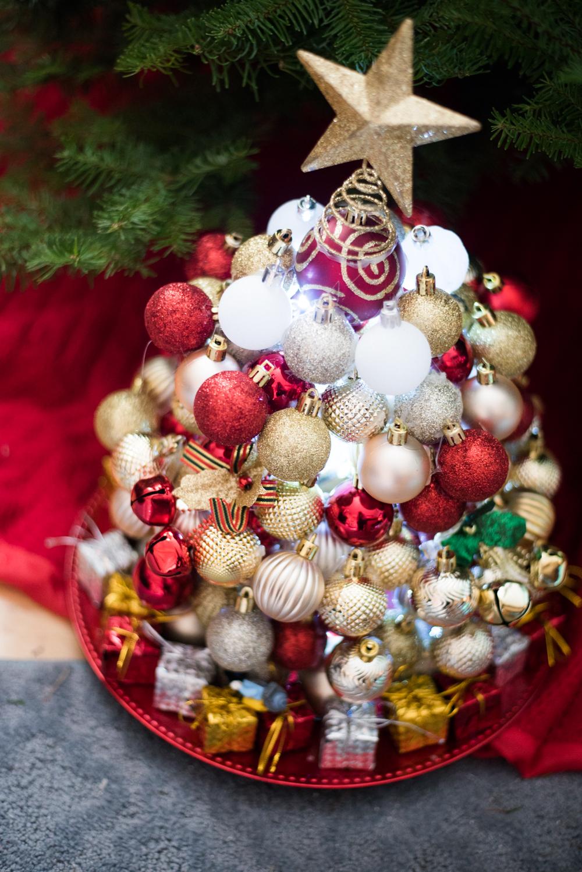 Dollar Tree Christmas Crafts.Diy Ornament Christmas Tree More Dollar Tree Christmas