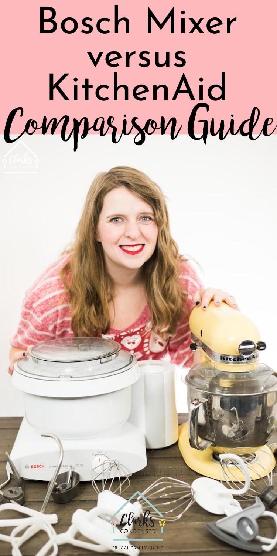KitchenAid Mixer / Bosch Universal Plus / Baker / Mixer / Stand Mixer via @clarkscondensed