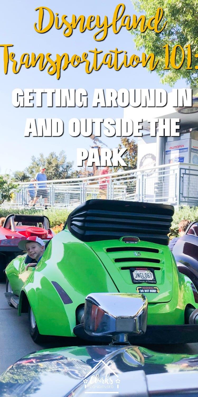 Disneyland Transportation / Disneyland Tips / Tips for Disneyland / Going to Disneyland / Disneyland Planning via @clarkscondensed