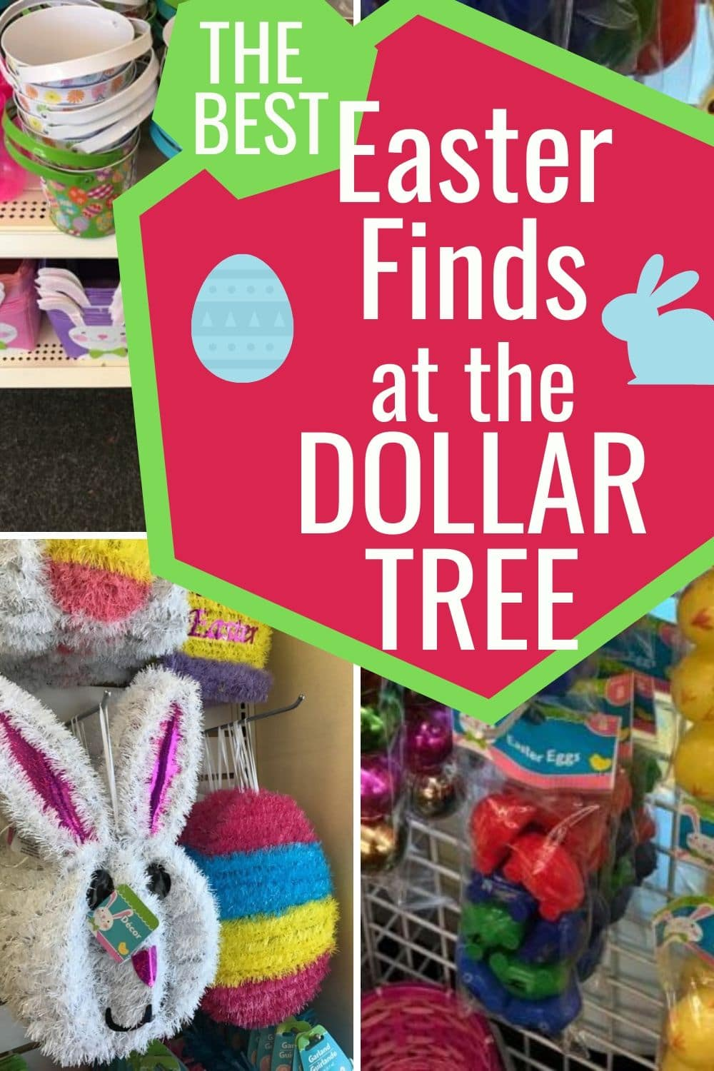 Dollar Tree Easter / Easter Dollar Tree / Easter Dollar Store / Easter Ideas / Frugal Easter Ideas / Easter 2017 / Easy Easter Ideas / Easter Ideas for Kids via @clarkscondensed