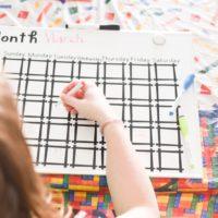 DIY Dry Erase Calendar and Menu Boards with Cricut
