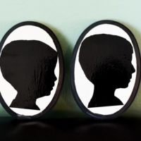 Make Your Own Silhouette Portrait - Just Like Disneyland Portraits!