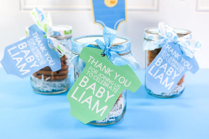 DIY Baby Shower Favor – Cricut Print then Cut