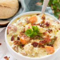 Crock Pot Creamy Chicken Stew