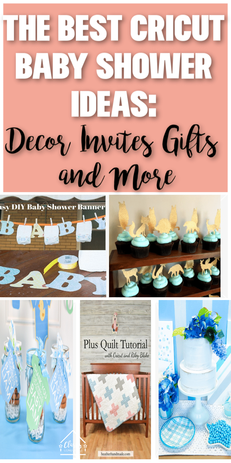 Cricut Baby Shower Ideas