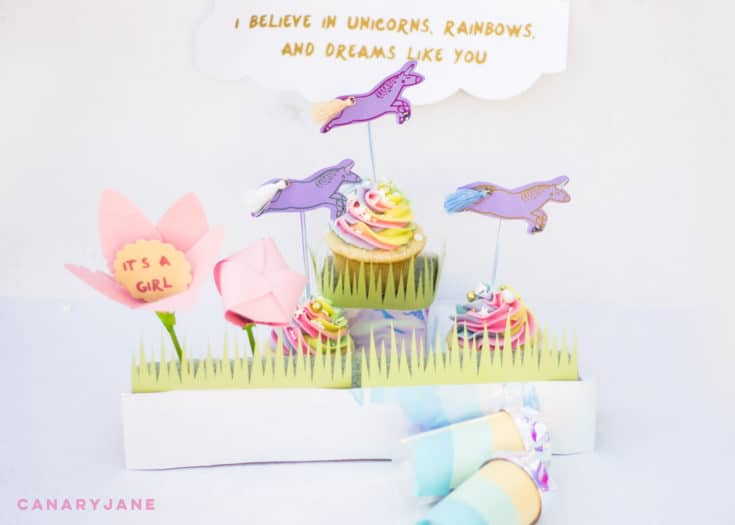 3 Rainbow Unicorn Gender Reveal Ideas