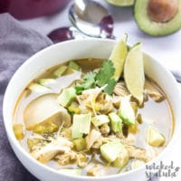 Green Chili Chicken Soup Crock Pot Recipe