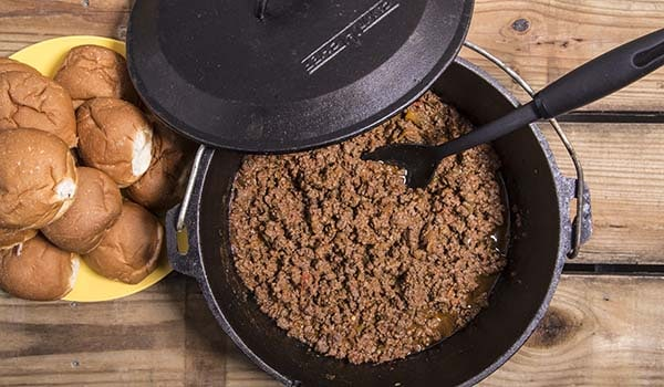 Easy Dutch Oven Sloppy Joes