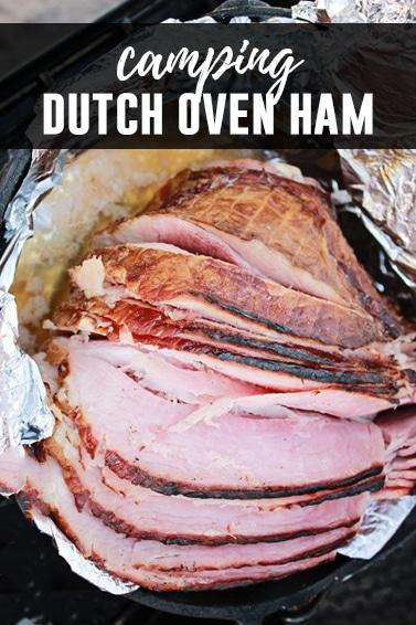 Camping Dutch Oven Ham