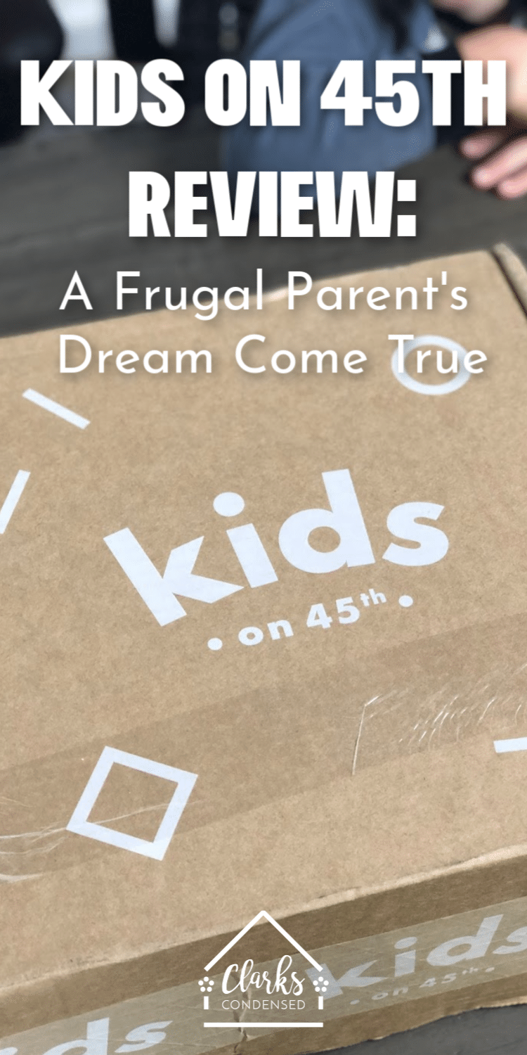 Kids on 45th Review / Clothing for Kids / Kids Clothing #clothing #frugalliving via @clarkscondensed