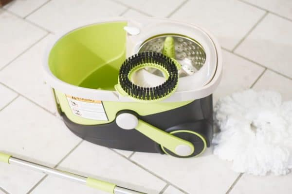 mopnado walkable deluxe spin mop