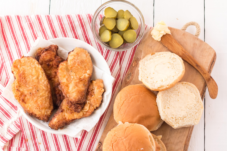 Homemade Chick-fil-A Sandwich