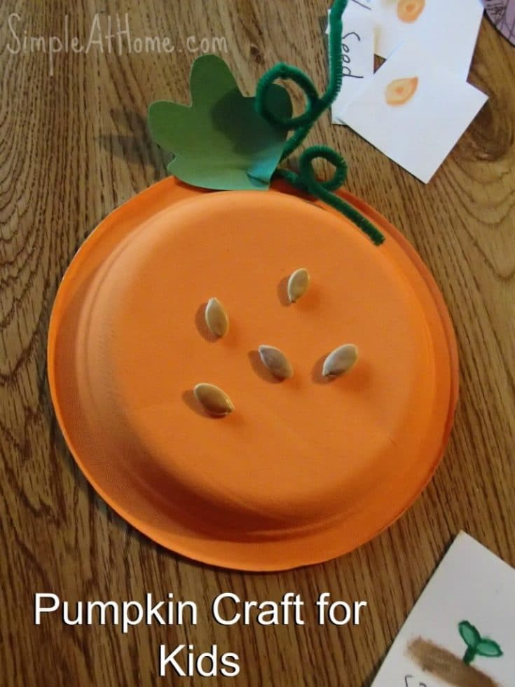 Pumpkin Craft and Printable • Simple At Home