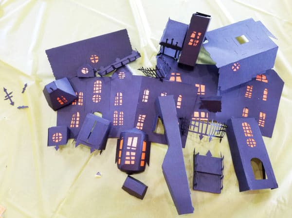 Haunted House Pieces