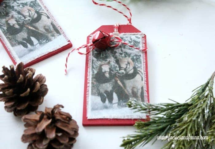 Farmhouse DIY Christmas Ornaments