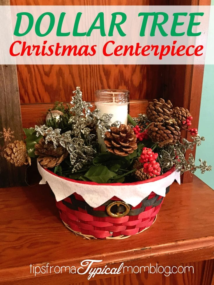Dollar Tree $8 Christmas Table Centerpiece Craft Tutorial + Other Dollar Tree Crafts