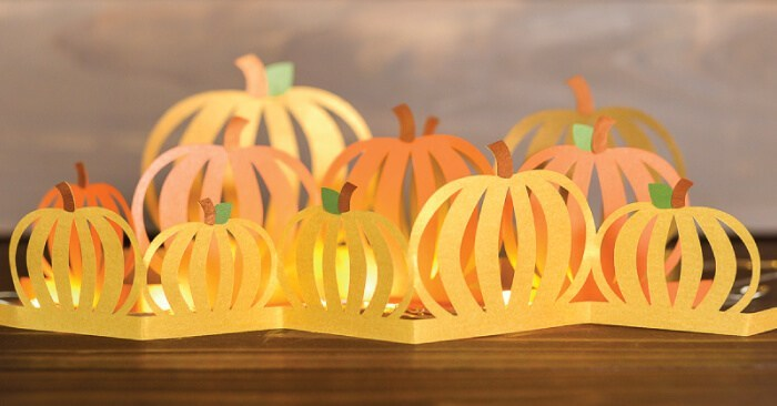 Fall Decorating Idea: Pumpkin Luminaria