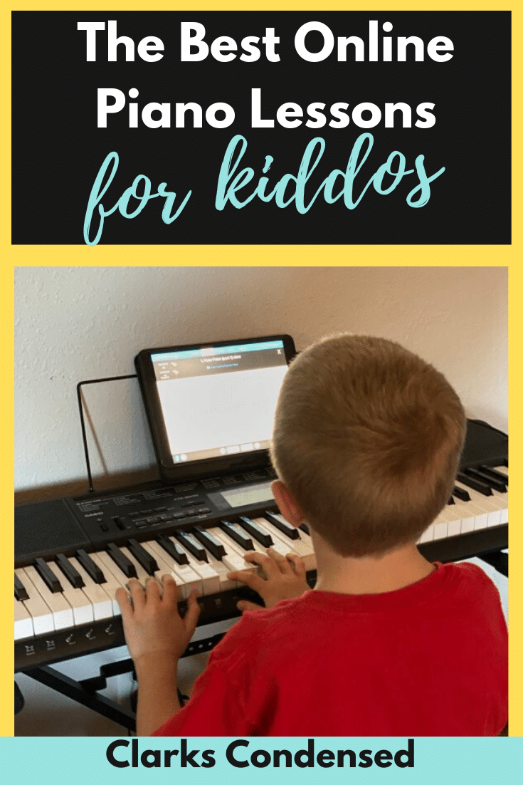 Learn how to play the piano at home with Piano Marvel! This is a great music tool for children. via @clarkscondensed