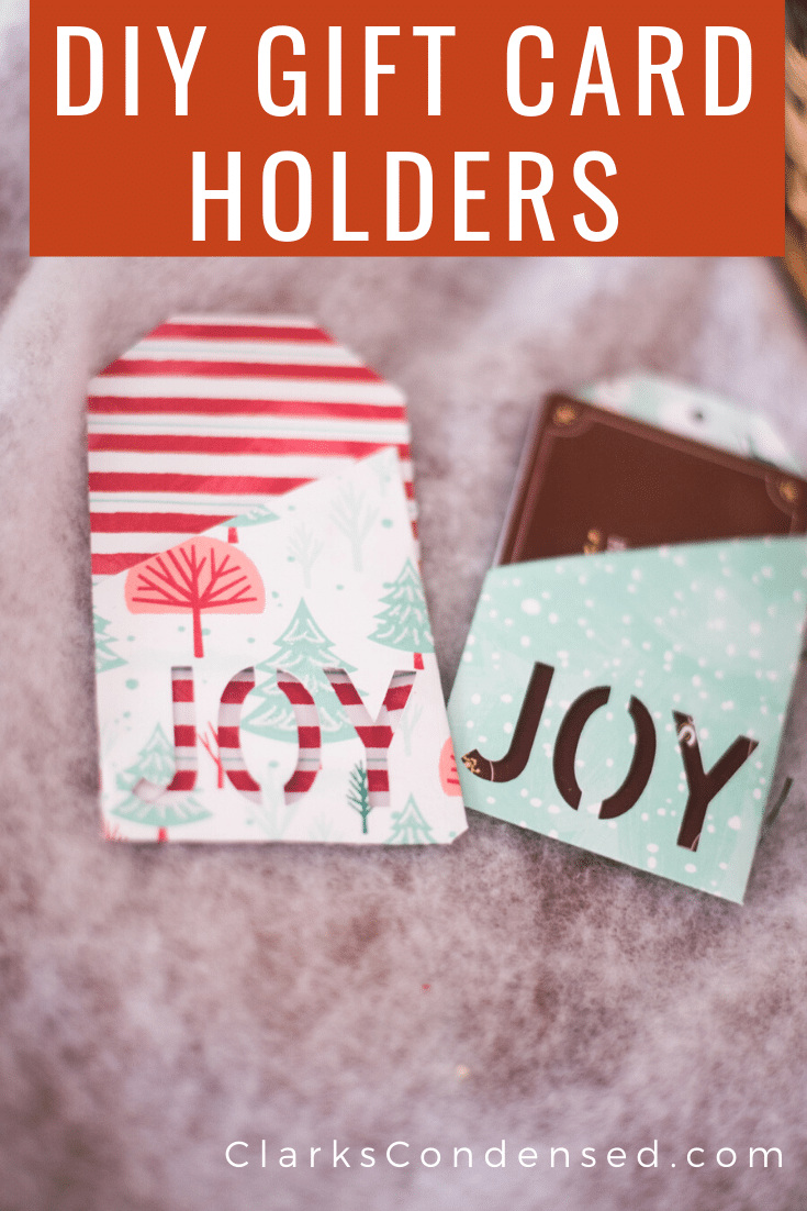 DIY Cricut Paper Ornaments and Gift Card Holders via @clarkscondensed