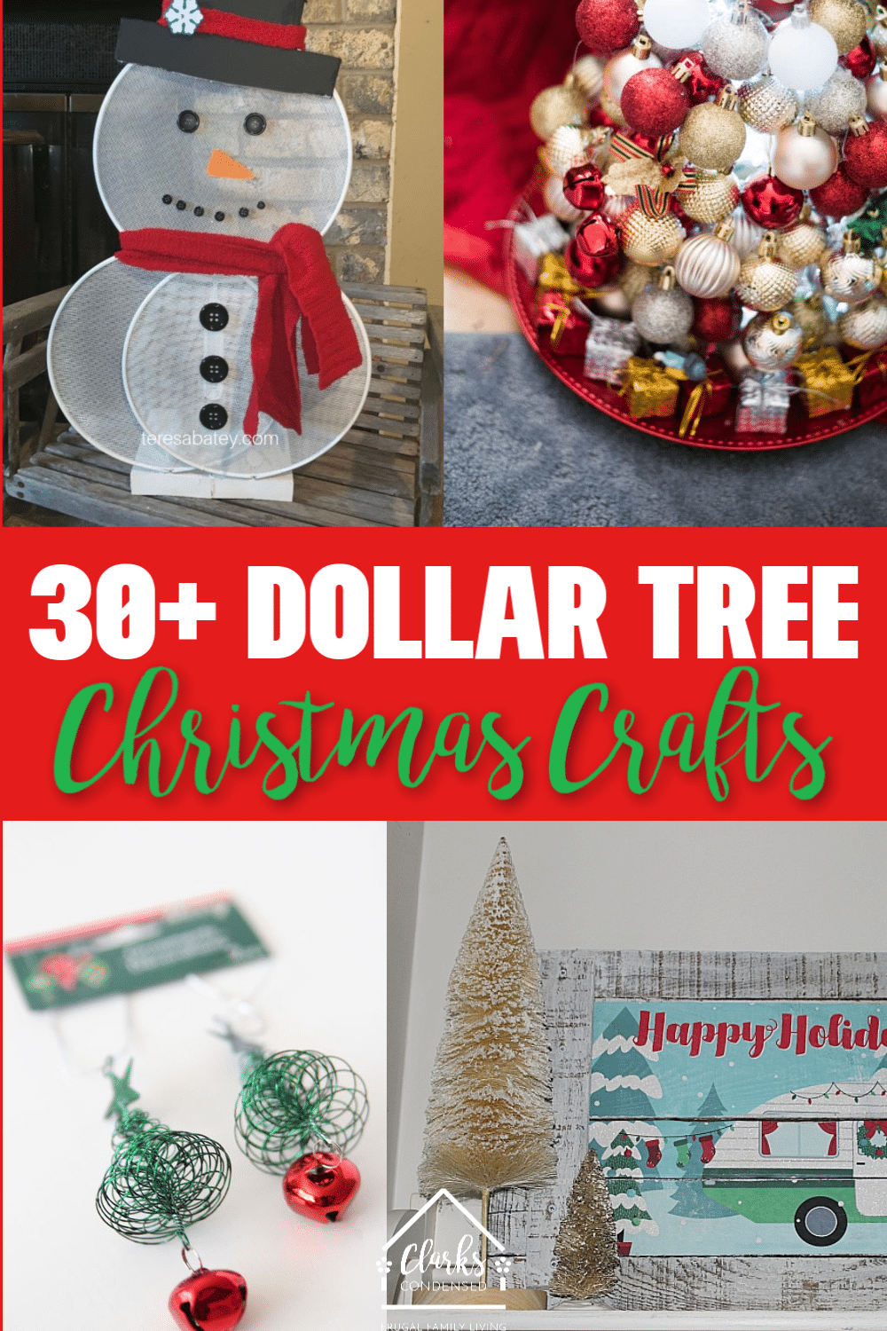 30 Diy Dollar Tree Christmas Decor Crafts And More