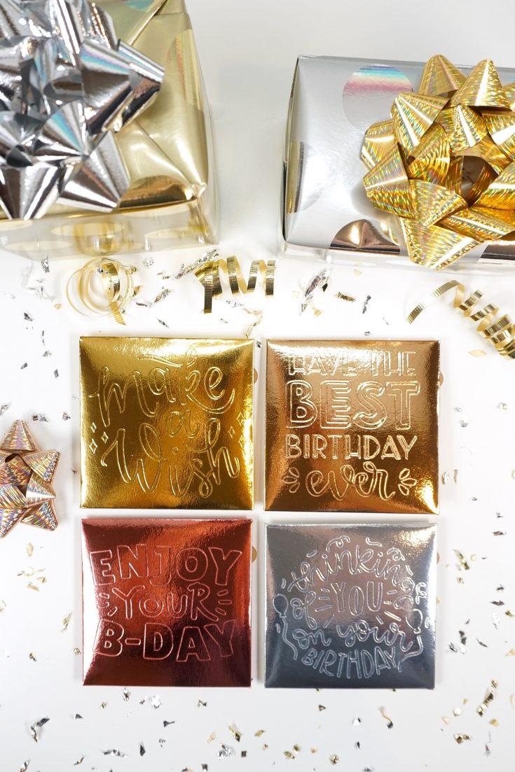 Easy Birthday Gift Card Holders
