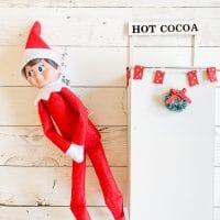 Easy Elf on the Shelf Activity