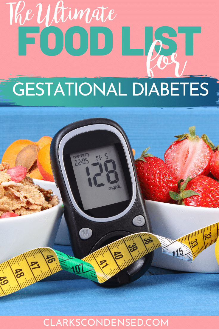 The Ultimate Gestational Diabetes Food List And Tips For Thriving