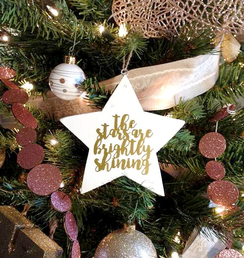 Christmas SVG Star Ornament