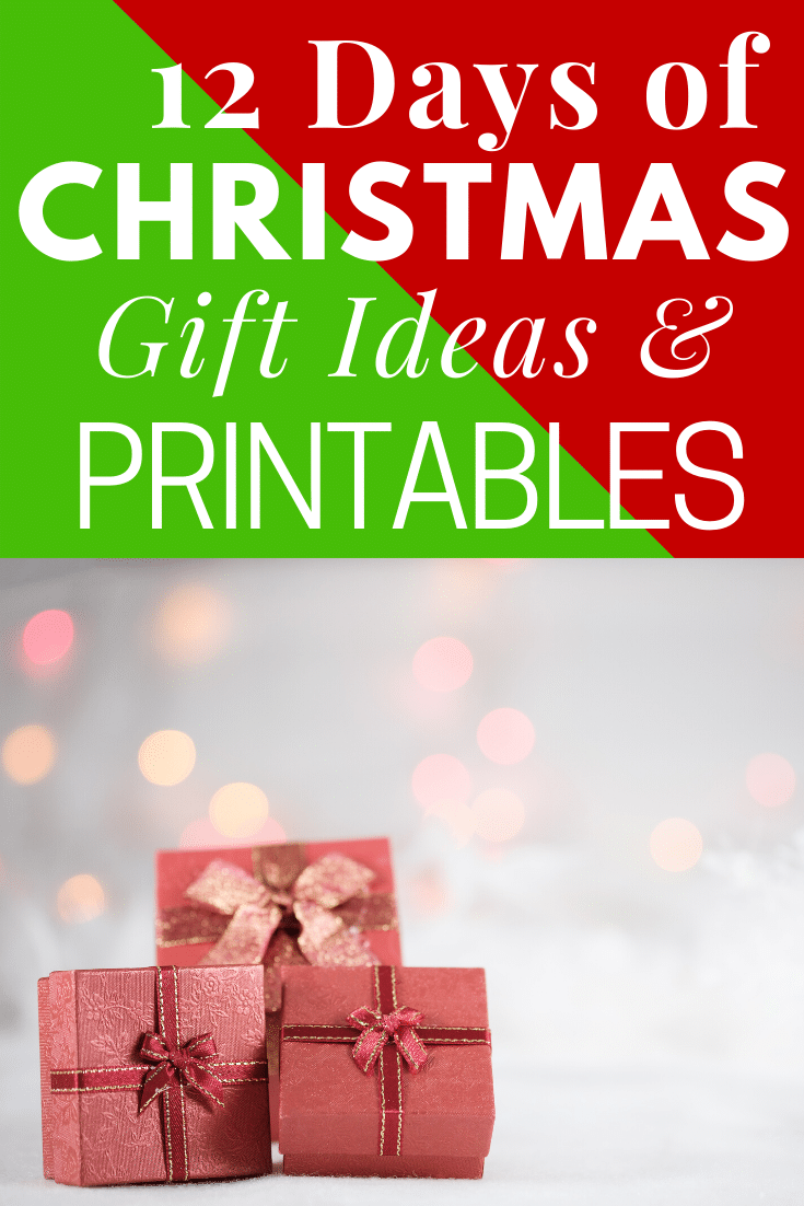 Make someone's holiday a little jollier this year by doing the 12 Days of Christmas! Here are lots of fun gift ideas and free printables! via @clarkscondensed