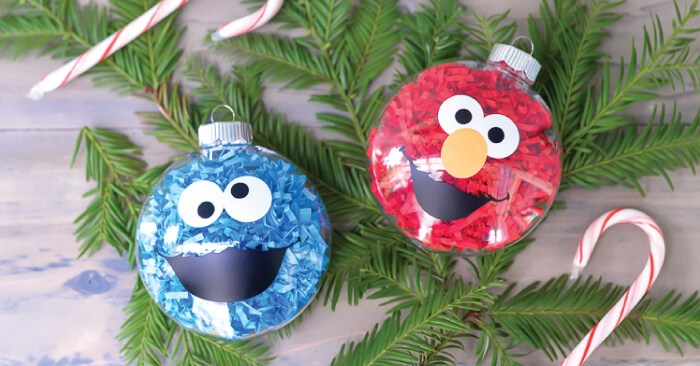 DIY Sesame Street Ornaments