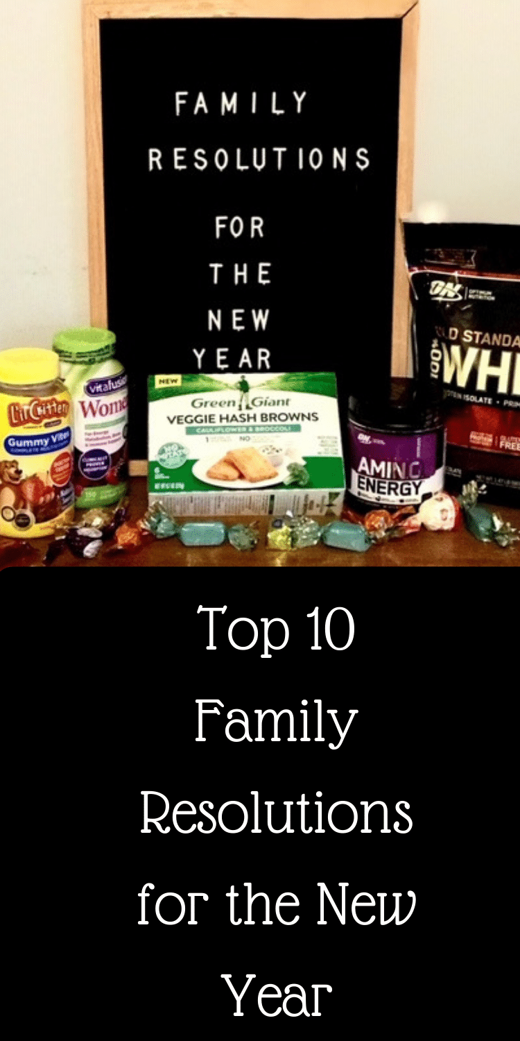 Top 10 Family Resolutions for the New Year via @clarkscondensed