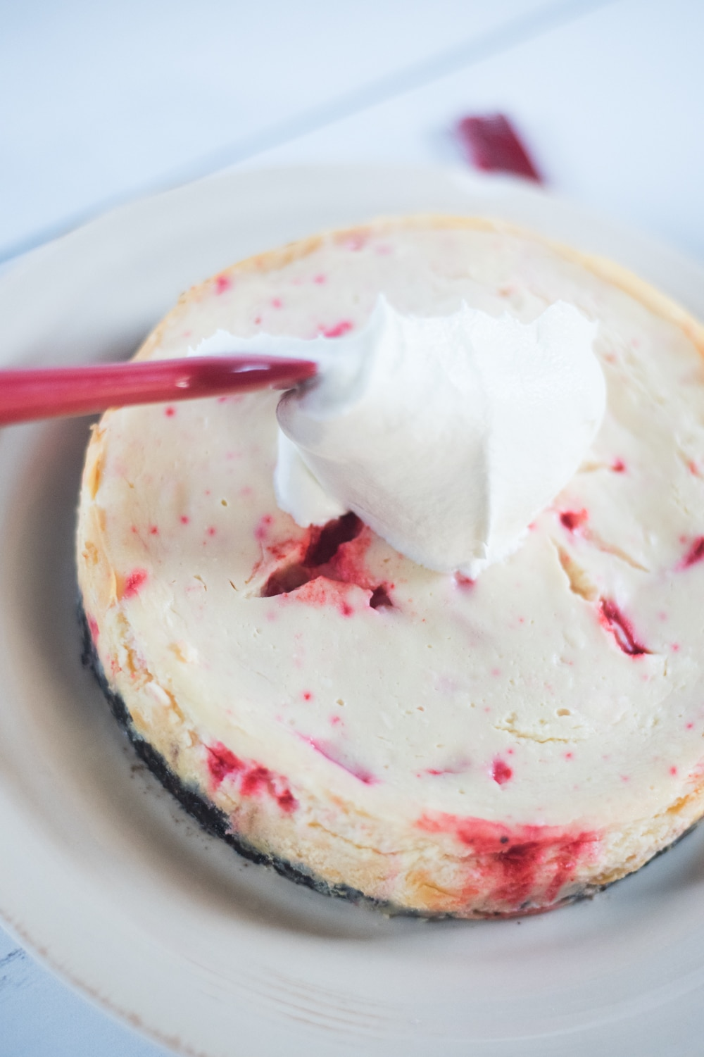 andes peppermint cheesecake
