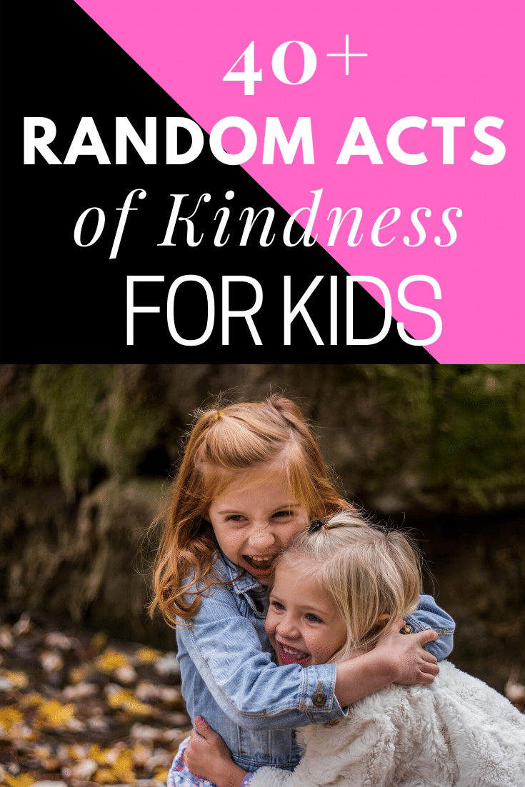 Kindness Acts Ideas