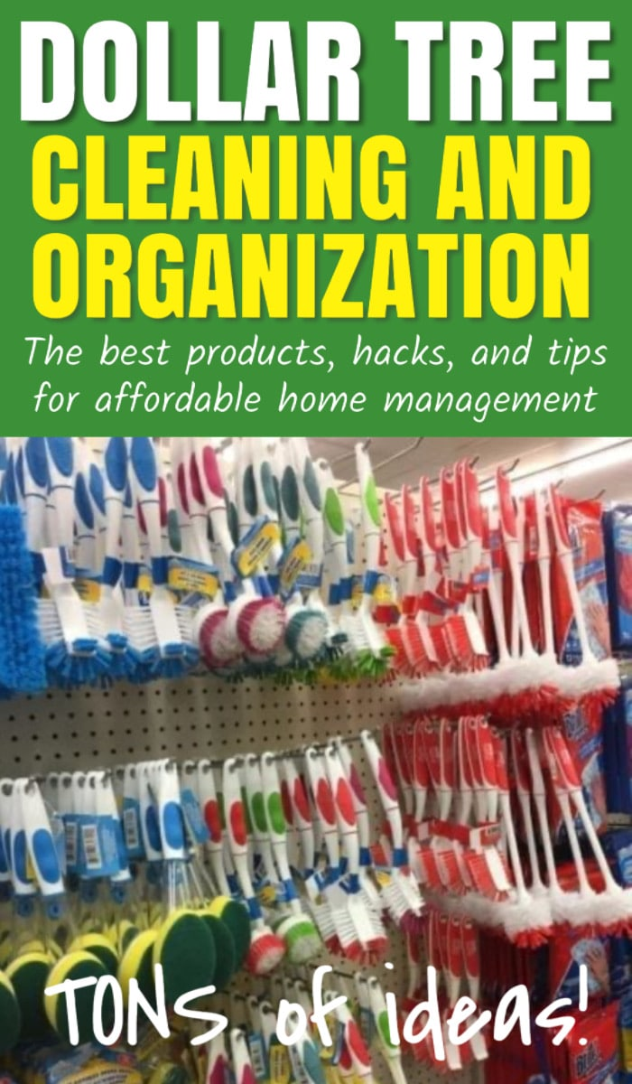 Dollar Tree / Dollar Tree Ideas / Dollar Tree Idea / Organization / Cleaning / organization diy / organization ideas / organization ideas for the home / cleaning tips / cleaning hacks via @clarkscondensed