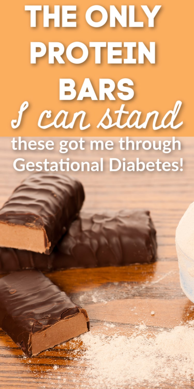 These protein bars got me through my Gestational Diabetes pregnancy. They are delicious, have decent ingredients, and taste like a candy bar! via @clarkscondensed