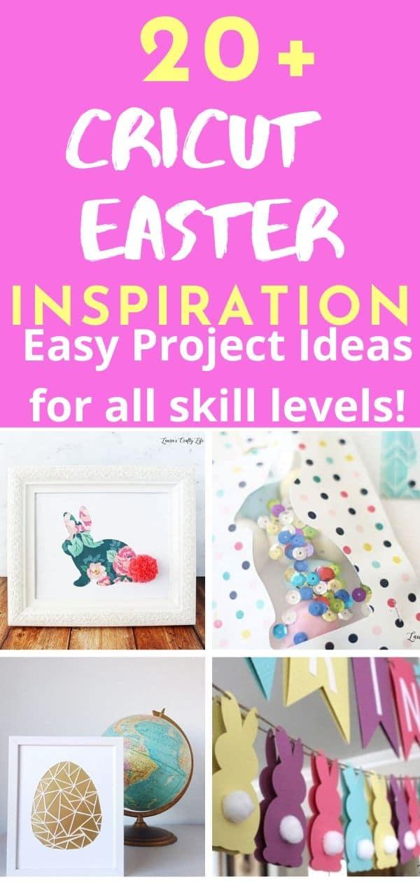 Fun and easy Cricut Easter Projects for the Cricut Maker and Cricut Explore Air 2!