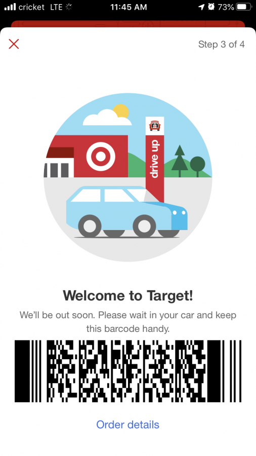 Target Drive up app
