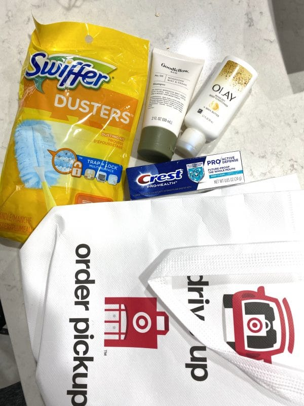Target drive up goody bag