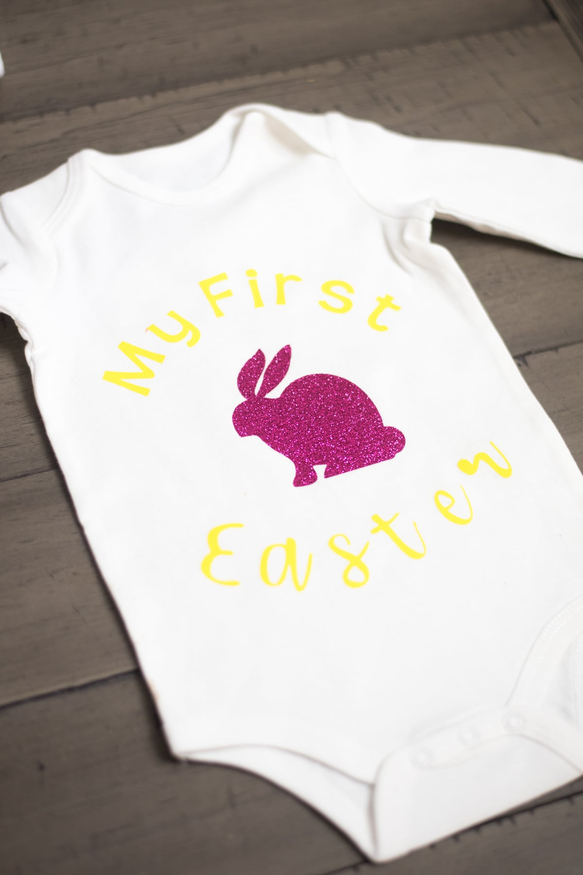 Baby's First Easter onesie