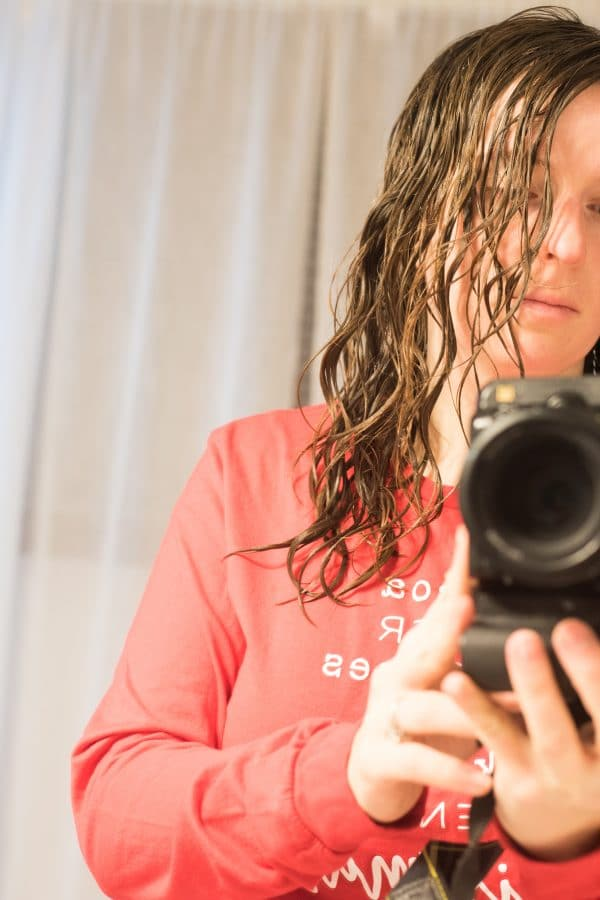 wavy hair curly girl method